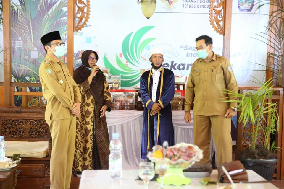 Halsel Ikut Serta Pada Event Pekan Sagu Nusantara 2020