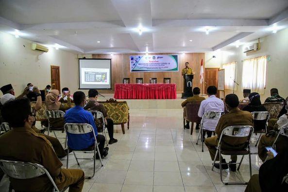 Wakil Bupati Halmahera Selatan Buka Advokasi Vaksinasi Covid-19