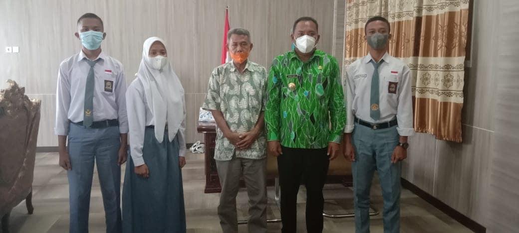 Tiga Siswa Di Halsel, Terpilih Ke Paskibraka Provinsi